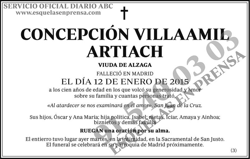 Concepción Villaamil Artiach